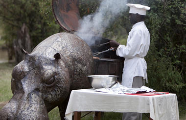 The hippo BBQ