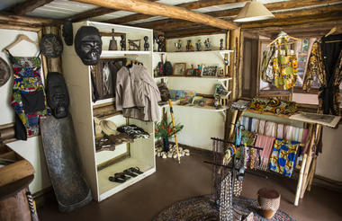 Buhoma Lodge - Curio Shop