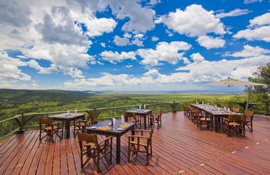 Restaurant Deck at Soroi Serengeti Lodge