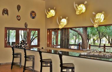 Black Rhino Game Lodge - Bar