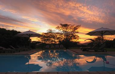 Safari lodge  Pool