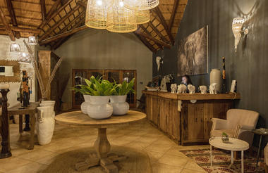 Bayala Safari Lodge Reception