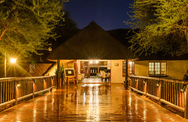 Mongena Private Game Lodge Reception
