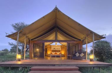 Tented Suite - external
