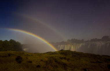 Tour of the Falls - Lunar Rainbow