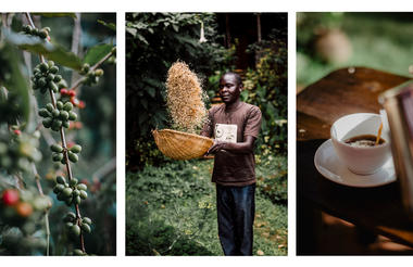 Locally sourced, organically grown coffee