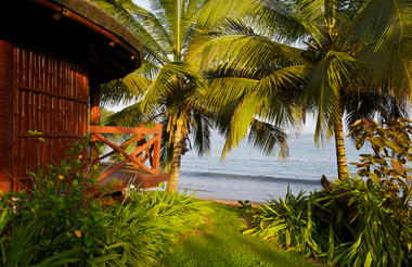 Beachfront bungalow