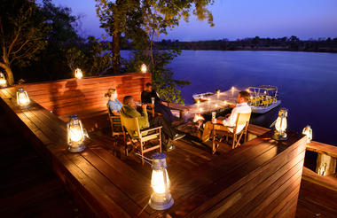 Ila Safari Lodge Firepit