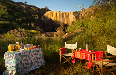 Bush Meals in exceptional locations