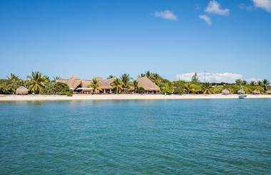 Azura Benguerra Island - View of the hotel