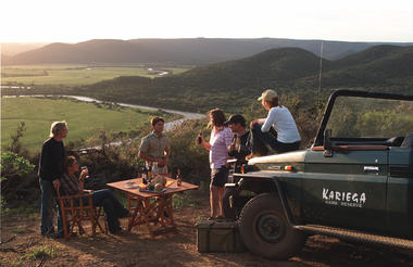 Sundowners at Kariega