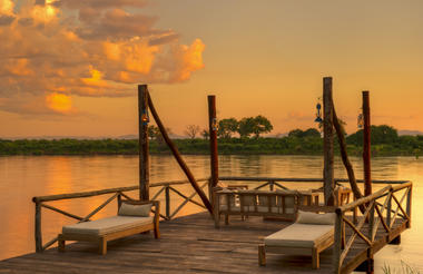 Kanyemba Lodge Deck