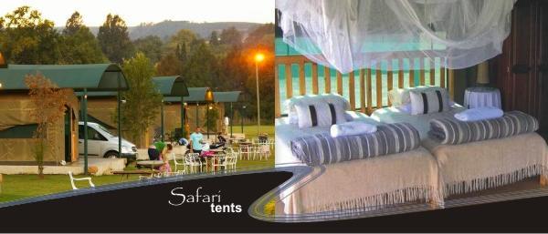 Safari En Suite Single Bed Tents