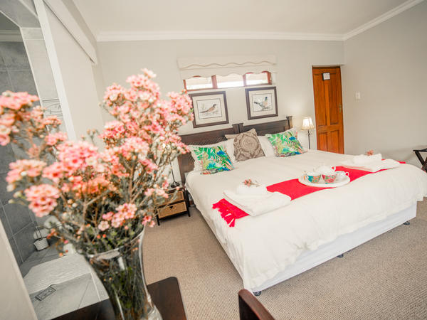 Double room upstairs with balcony -1