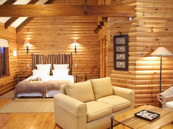B&B Chalet / Wooden Log Cabin with View