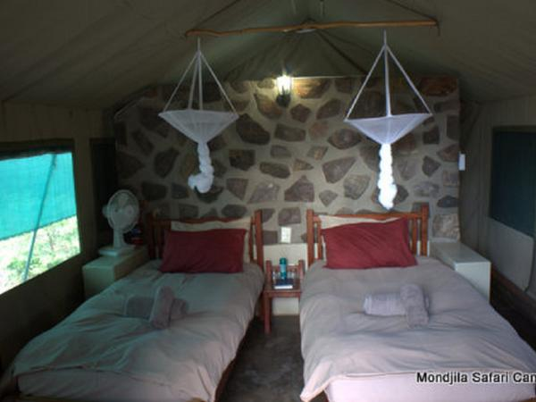 Twin Tented Room