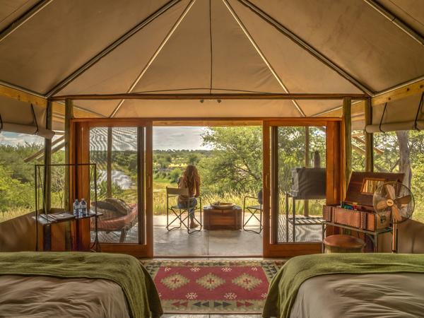 Meno a Kwena Tents (Twin)