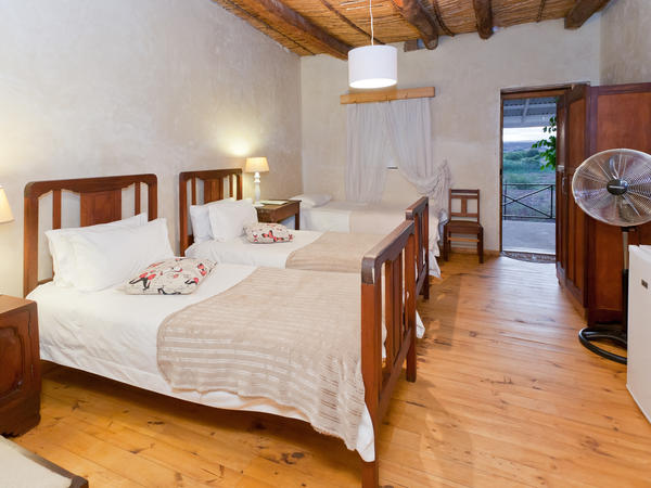 Room 4 - One Double Bed & 3 x Single Bed