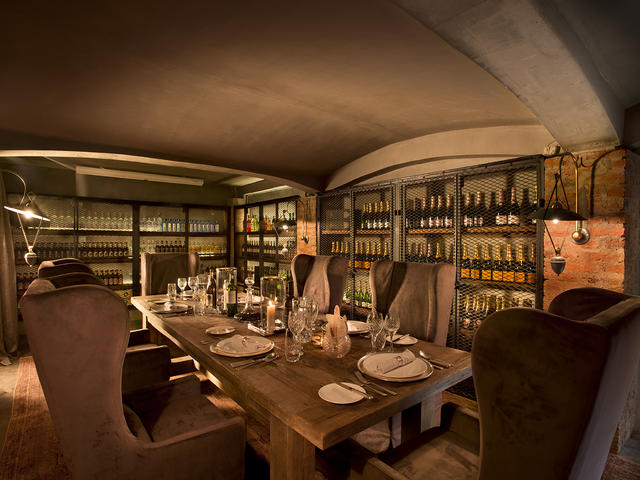 Private Dinner in the Wine Store (Additional Cost)