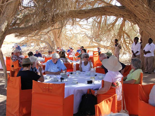 Breakfast at Sossusvlei