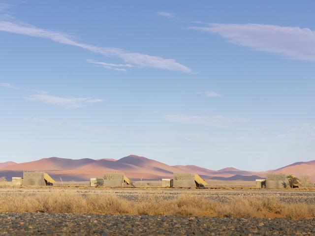 Luxury desert suites