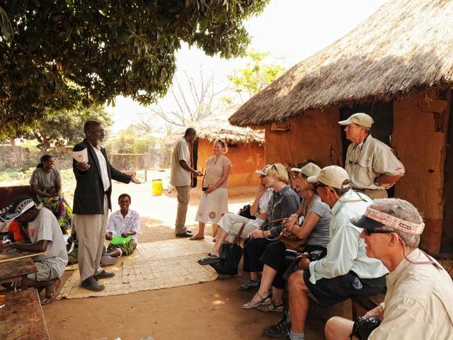 Kulturelle Dorfbesuche