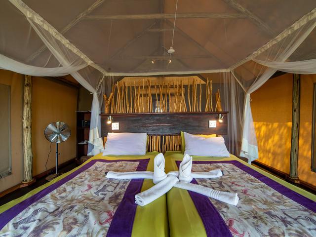 Zwei-Bett Zelt-Chalets