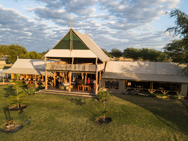 Chobe River Camp Restaurant
