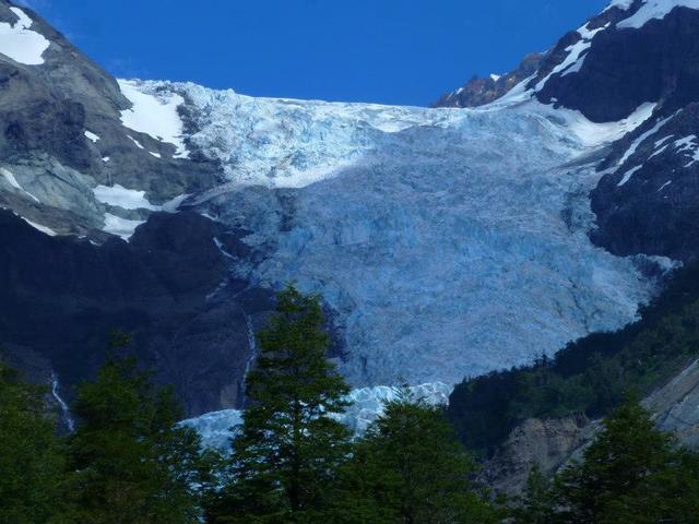 The El Amarillo Hanging Glacier