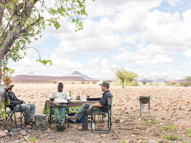 Desert Rhino Camp - Full day outings with picnic lunch