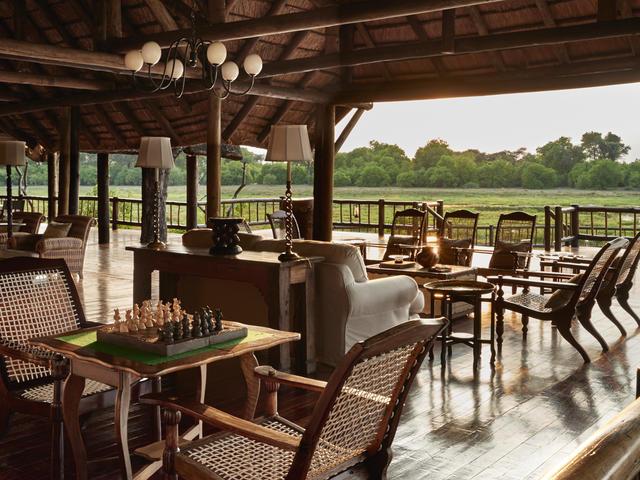Dining at Belmond Khwai River Lodge