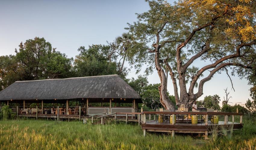 Chitabe Lediba camp setting