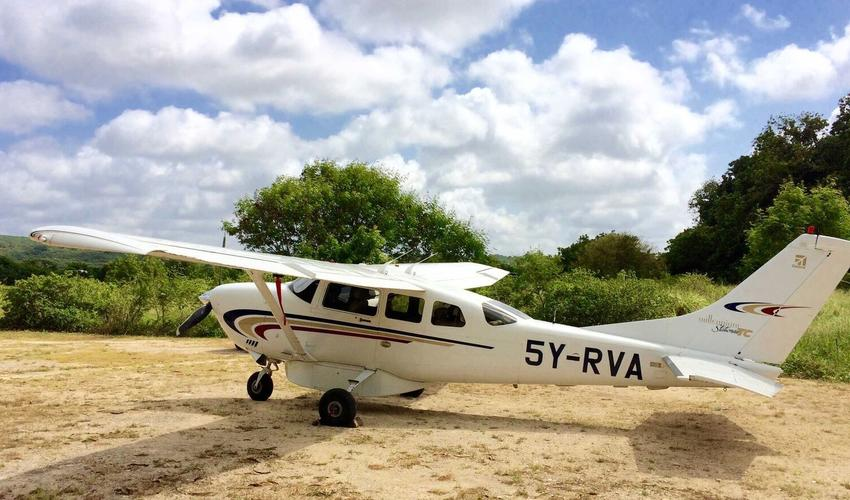 Take to the skies for air transfers & panoramic air excursions - based in Samburuland