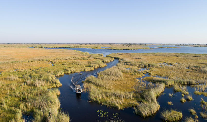 Experience the open waterways by boating through the delta