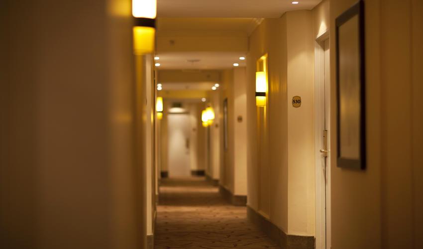 Floor walkway