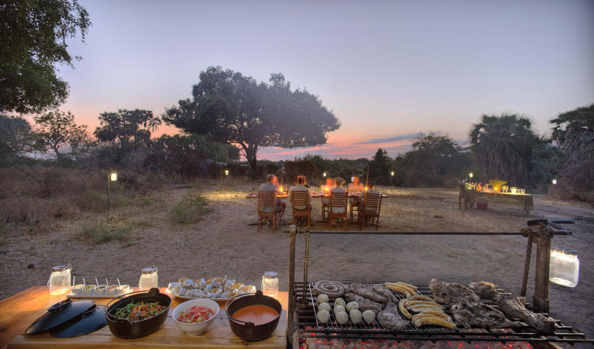 Roho ya Selous - outdoor barbecue