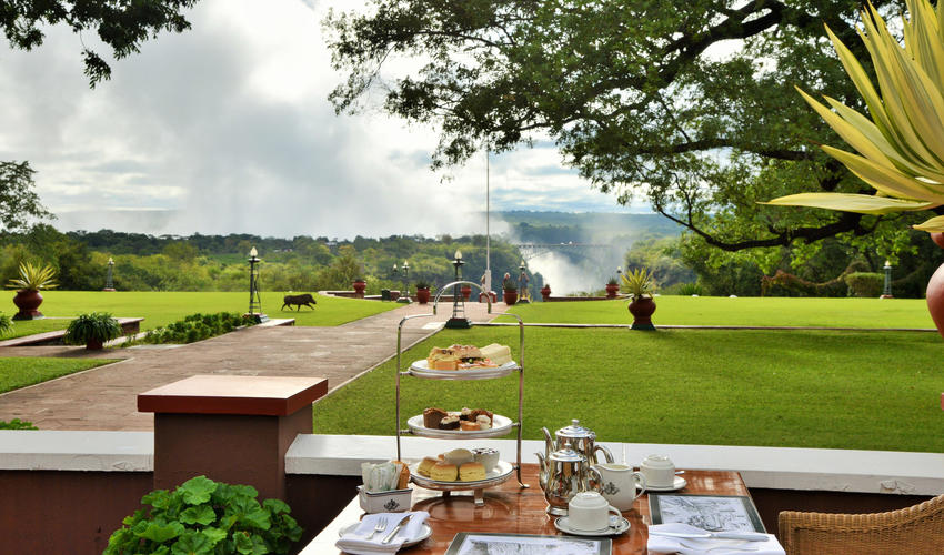 Afternoon Tea- Served daily on Stanley's Terrace 15h00 - 18h00