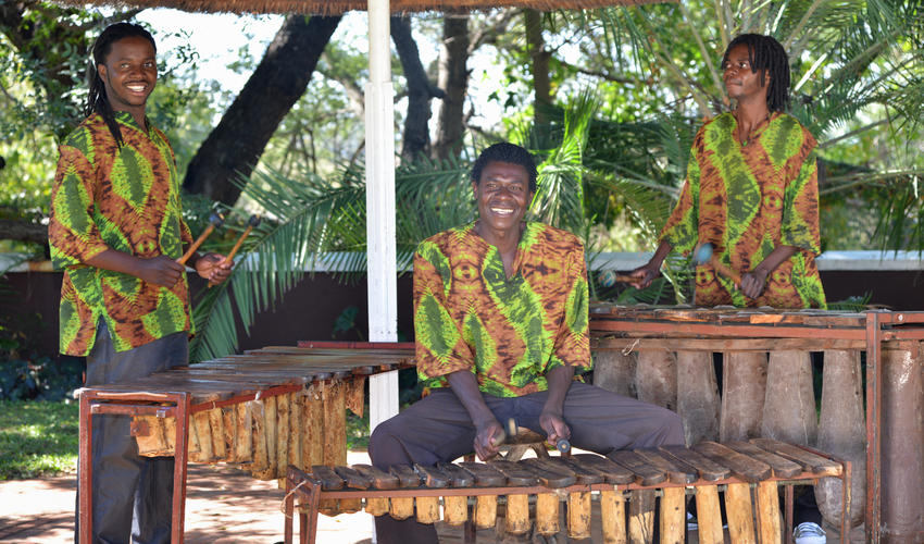 Pool-Marimbas