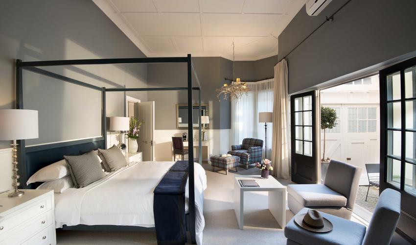 Interior of a luxury room