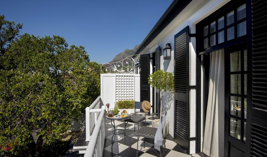 Each Luxury Room has a balcony or patio