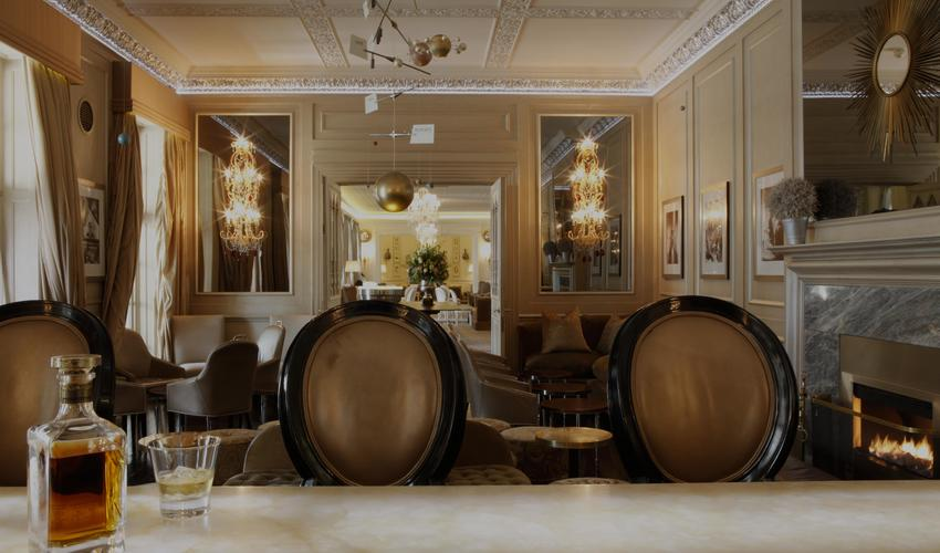 Enjoy a wide selection of wines, champagne and cocktails