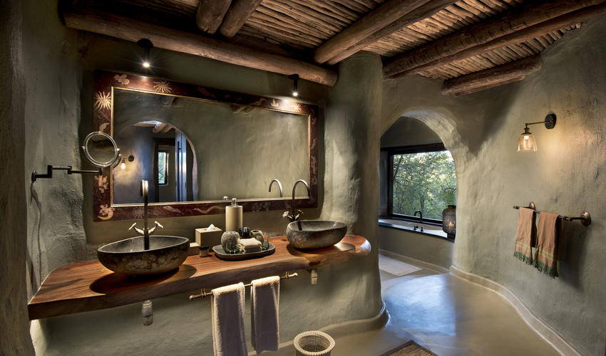 Guest suites at Phinda Rock Lodge