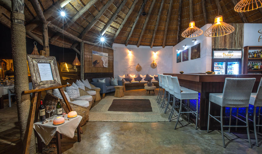 Cocktail Bar and Lounge area -