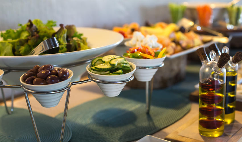 Lunch Buffet - fresh,light and delicious