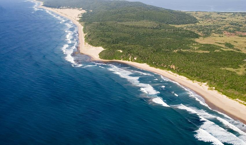 Unspoilt beaches, lakes & forests
