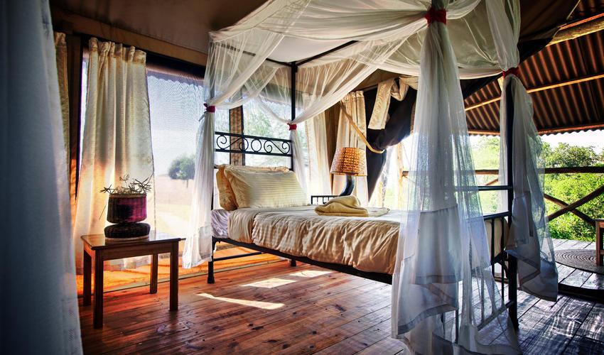 Twin Room at Mbali Mbali Tarangire River Camp