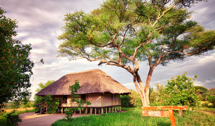 Each Room contains an ensuite bathroom and private balcony at Mbali Mbali Tarangire River Camp
