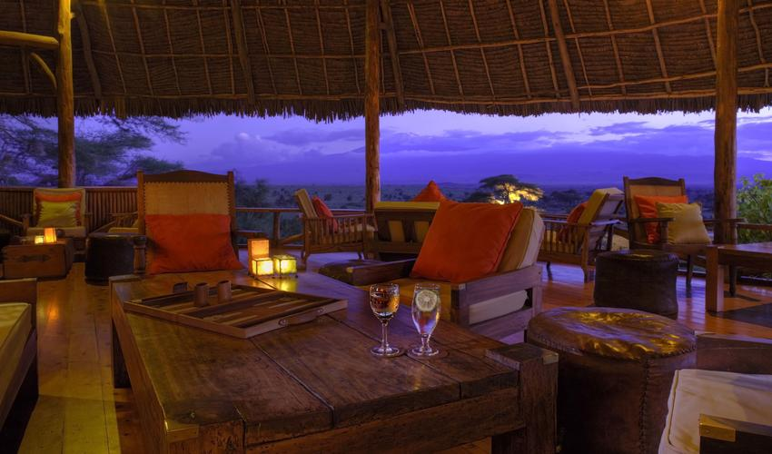 Spectacular views from the Bar & Lounge area