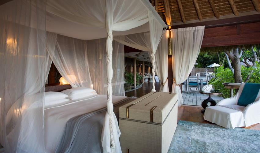 Presidential Villa interior following the latest softs and decor refurbishment