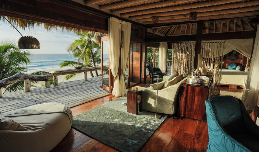 Villa North Island gives guests a sense of both space and ultimate privacy